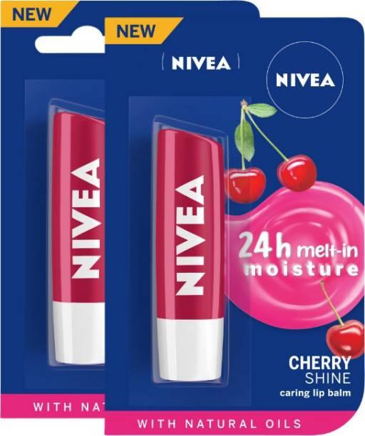 NIVEA Cherry Fruity Shine Lip Balm Cherry