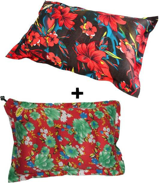 Rajdeep Air Floral Sleeping Pillow Pack of 2