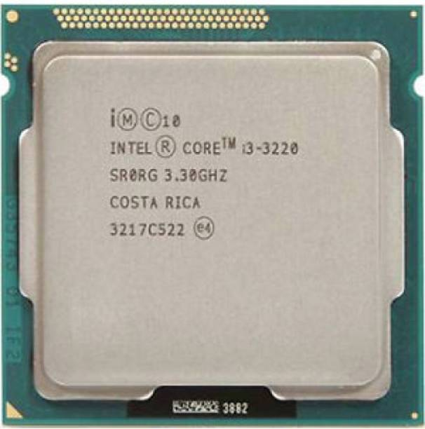 Intel i3 (3220) 3rd Generation Processor for H61 Motherboards 3.3 GHz LGA 1155 Socket 2 Cores Desktop Processor