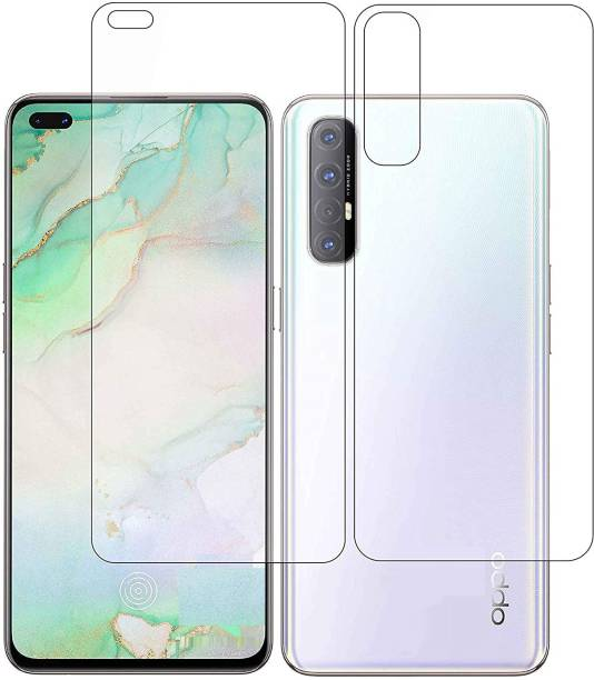 ELEF Front and Back Tempered Glass for Oppo Reno 3 Pro