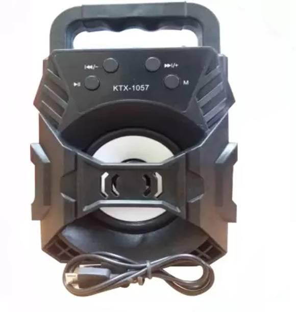 Lehza New style KTX creative outdoor portable wireless microphone mini plastic speaker bluetooth box 5 W Bluetooth Speaker