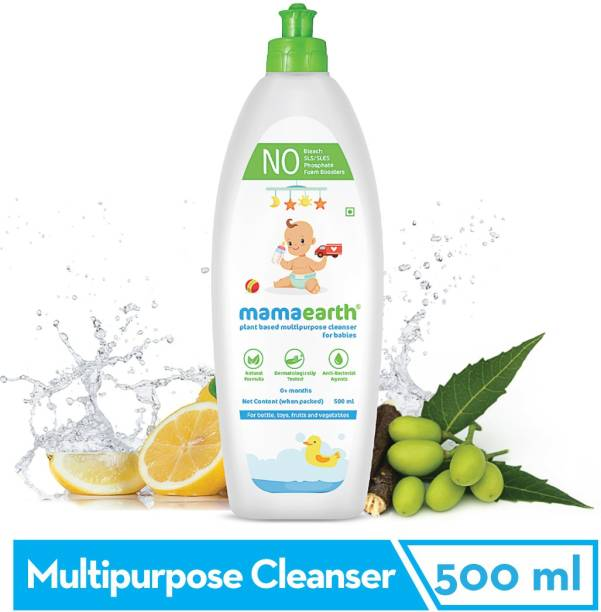 MamaEarth Plant-Based Multi Purpose Cleanser For Babies - 500ml