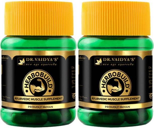 Dr. Vaidya's Herbobuild pack of 2 - DV75