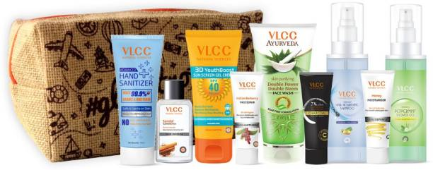 VLCC Refresh & Glow Kit with Pouch