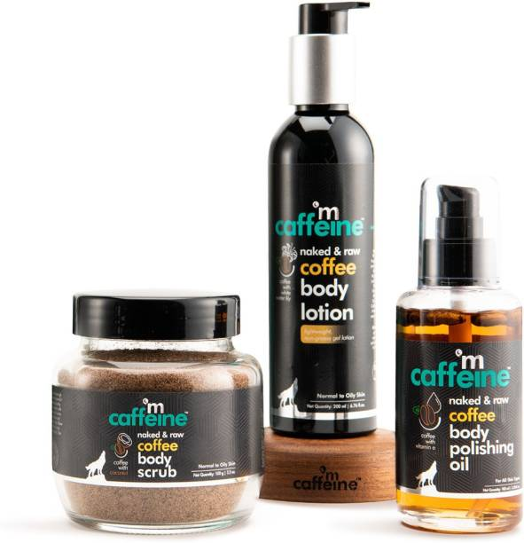 MCaffeine Body Toning & Polishing Kit