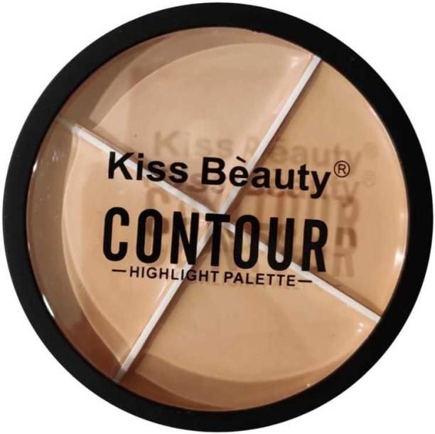 Kiss Beauty 4 Color Contour Palette Concealer