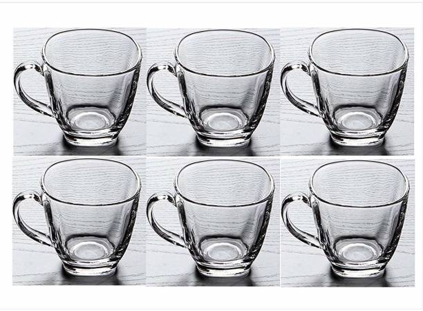 mahakal Pack of 6 Glass Pack of 6 Glass New Designer Tea Cup