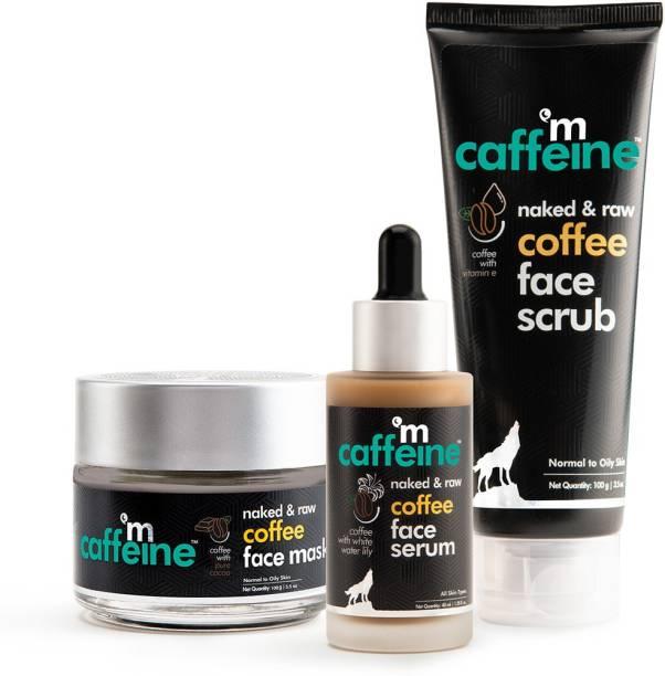 MCaffeine De-Tan Face Polishing Kit