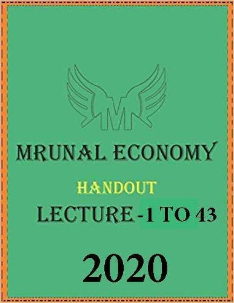 Murnal Economic Handout Lecture - 1 To 43 -2020 [photocopy]