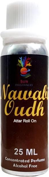 sun fragrances Nawabi Oudh 25ml Attar (Fragrance for Royal's) Floral Attar