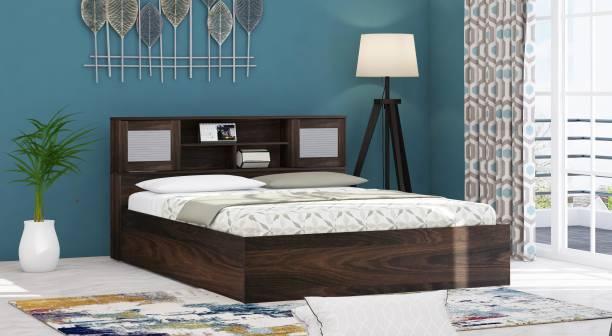 Zuari Georgia Engineered Wood Queen Box Bed