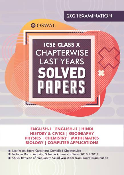 Chapterwise Last Years Solved Papers
