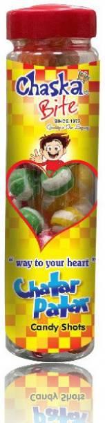 CHASKA BITE CHATAR PATAR BOTTLE PACK ( 250 GM ) FRUIT FLAVOR Candy