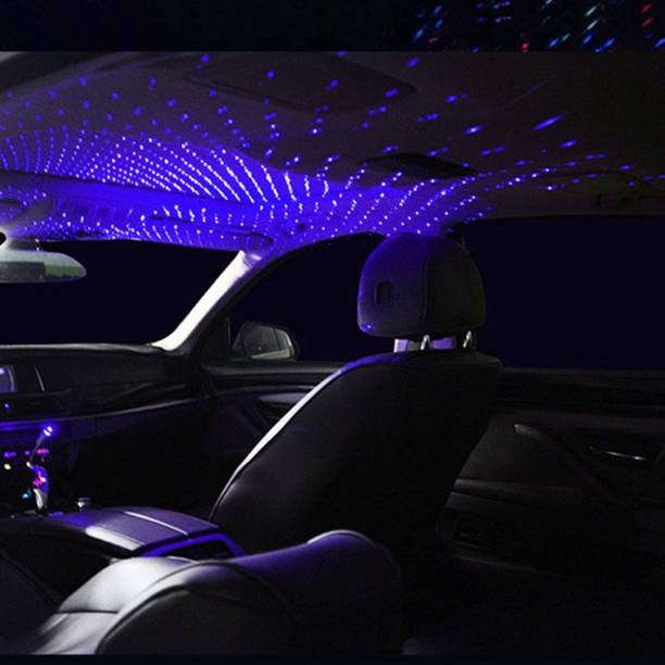 LIFEMUSIC Romantic Auto USB Roof Star Projector Lights Night Lamp Fit All Cars Interior Ambient Atmosphere Car Fancy Lights