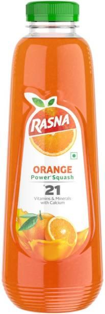 Rasna 21 Orange Power Squash