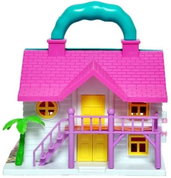 FIDDLERZ Loving Family House Set for Girls, Pretend Play Toy House