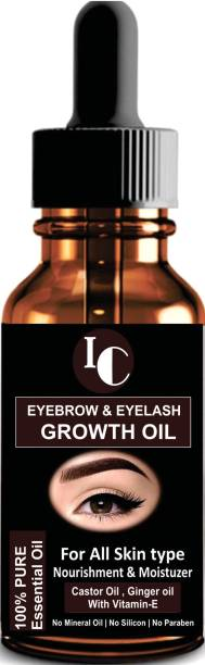 INDO CHALLENGE Eyebrow & Eyelashes Growth Oil-Enriched with Natural 30 ml
