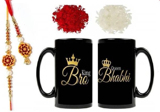 The Youth Fashion Bhaiya Bhabhi Rakhi, Mug  Set