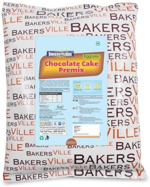 Bakersveggie Eggless Chocolate Cake Premix (cake mix), 1kg 1 kg