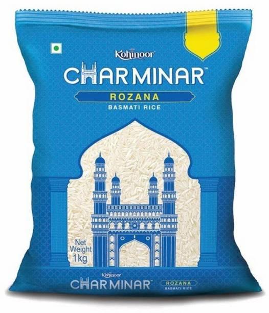 KOHINOOR Charminar Rozana Basmati Rice (1 kg) Basmati Rice (Medium Grain, Raw)