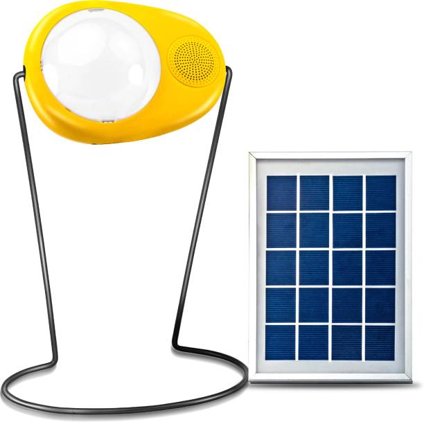 Sun King Boom Portable LED Solar Lamp with inbuilt Radio and USB Mobile Charging Solar Light Set