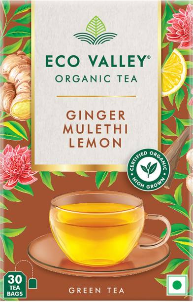 Eco Valley Assorted Green Tea Bags Box
