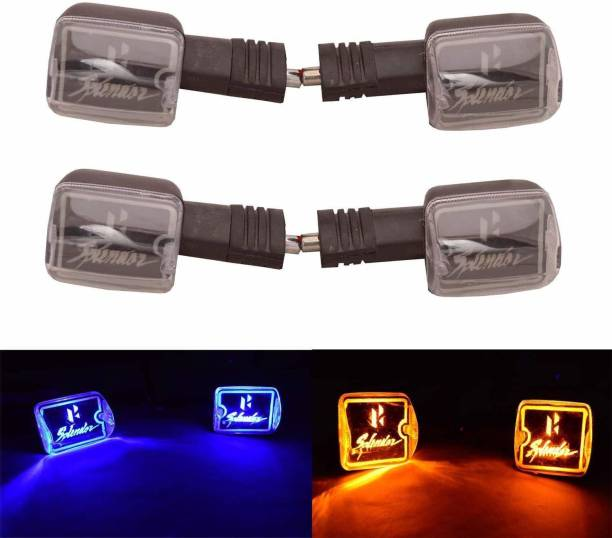 imad Front, Rear, Side LED Indicator Light for Hero Splendor Plus, Splendor Pro, Splendor NXG, Splendor pro classic