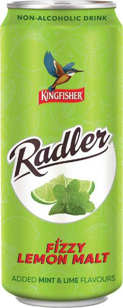 Kingfisher Radler Mint and Lime Flavours Can