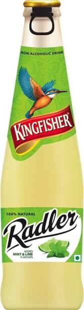 Kingfisher Radler Mint Lime Non-Alcoholic Glass Bottle