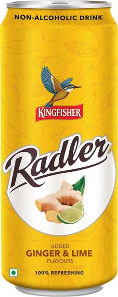 Kingfisher Radler Ginger and Lime Flavours Can