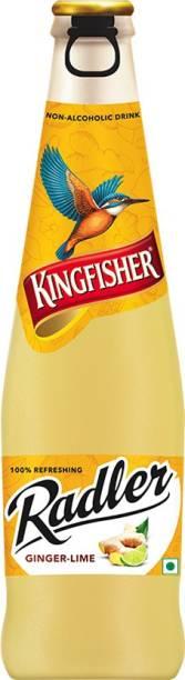 Kingfisher Radler Ginger Lime Non-Alcoholic Glass Bottle