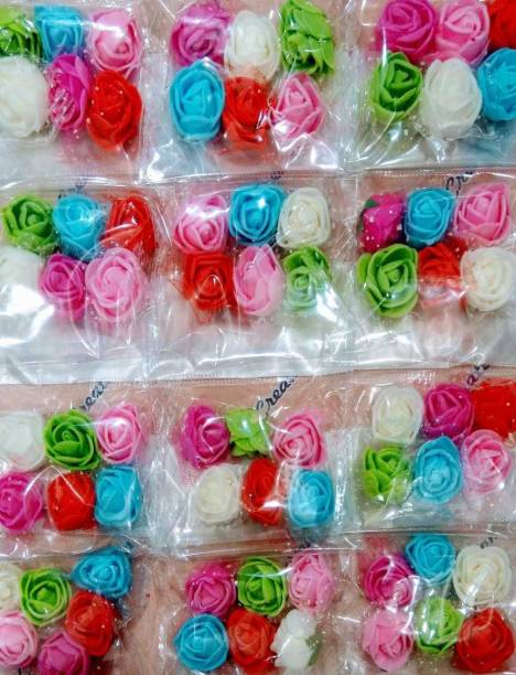 atul gift& toys artificial flowers for craft 72 pcs