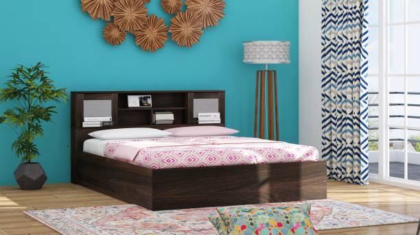 Zuari Georgia Engineered Wood Queen Hydraulic Bed
