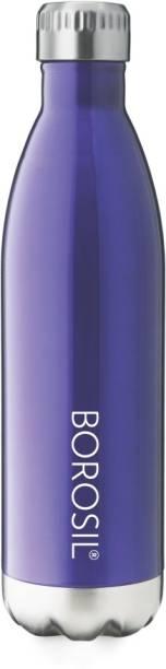 BOROSIL Bolt Trans Blue 500 ml Flask