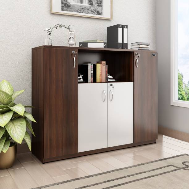 Crystal Furnitech Engineered Wood Free Standing Cabinet