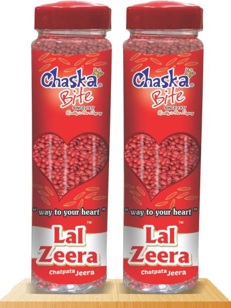 CHASKA BITE LAL ZEERA COMBO PACK ( 2 X 250 GM ) SWEET AND SOUR Sour Candy