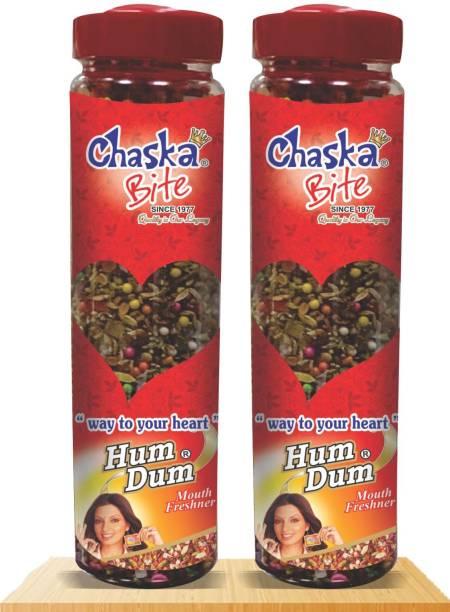 CHASKA BITE  Saunf Mukhwas Mouth Freshner Madrasi Saunf Peppermint Coated Good for Digestion  MOUTH FRESHNER FLAVOR Sour Candy