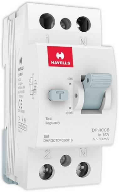 HAVELLS DHRGCTDF030016 RCCB 'AC' Type DP DHRGCTDF030016-Pk1 MCB