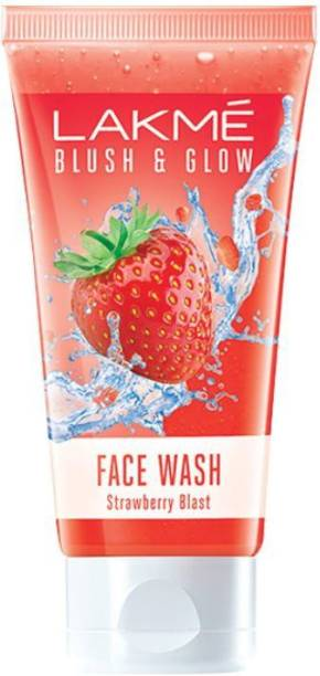 Lakmé Blush & Glow Strawberry Freshness Gel  with Strawberry Extracts Face Wash