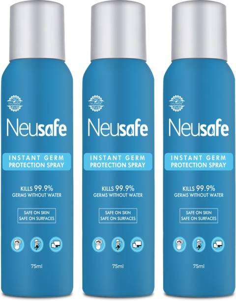 Neusafe Instant germ kill spray - Safe on all Surface Sanitizer Spray Pump Dispenser