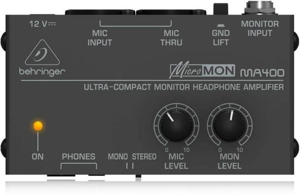 Behringer MA400 Desktop DAC Convertor Headphone Amplifier