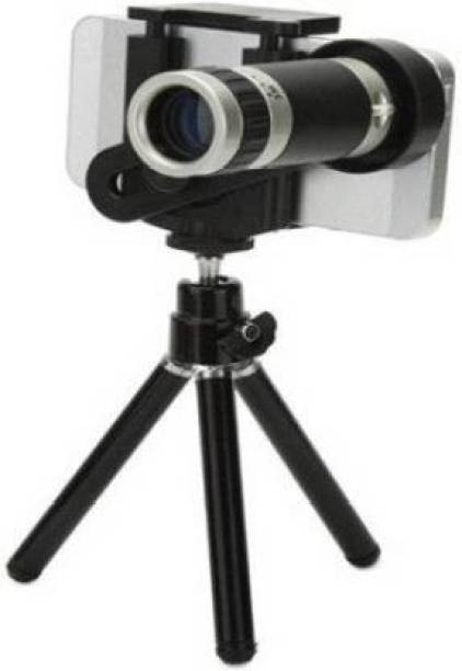 CHG Telescope with 8X for Cell Phone Optical  Magnifier With Tripod for All Android and iOS Device  Lens