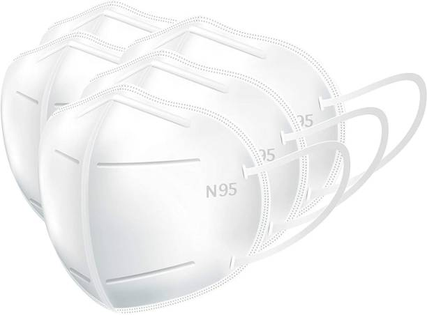 Lioncrown N95 / KN95 Reusable, Washable 5-Layer Anti-Pollution, Anti-Viral Protection Face Mask With Nose Pin Reusable, Washable, Water Resistant