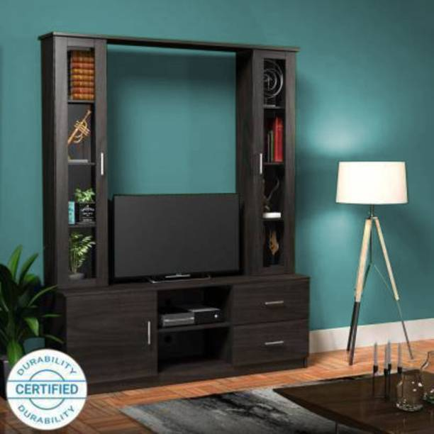 Forzza Victoria Wenge Engineered Wood TV Entertainment Unit