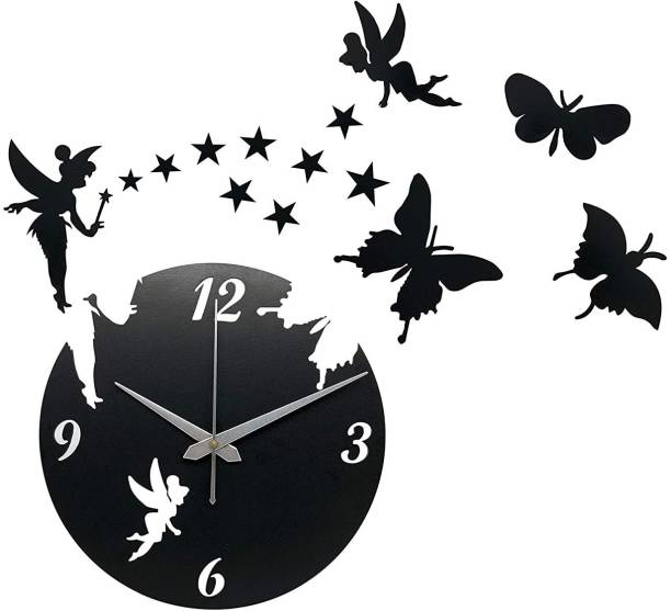 Iya Creations Analog 30 cm X 30 cm Wall Clock
