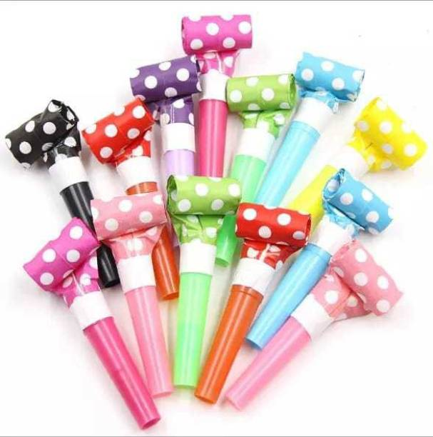 gorgeous moment kids whistle set parties horn parties dragon whistle squeeze multicolour for birthday parties and events Squeeze Whistle