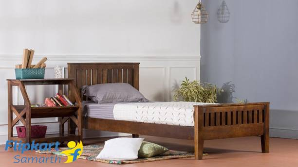 Vintej Home Solid Wood Single Bed