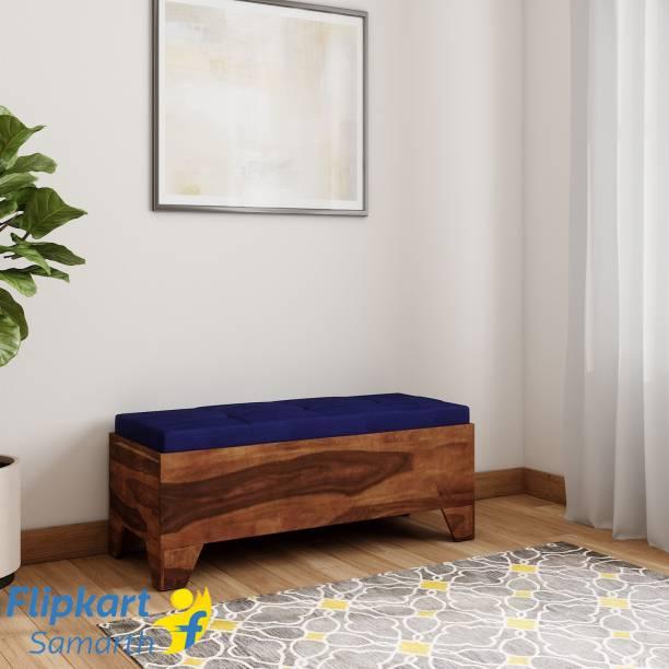 Vintej Home Sheesham Wood Solid Wood 2 Seater