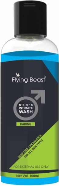 Flying Beast Daring Men's Intimate wash ,Soap free ,Ph Balanced
