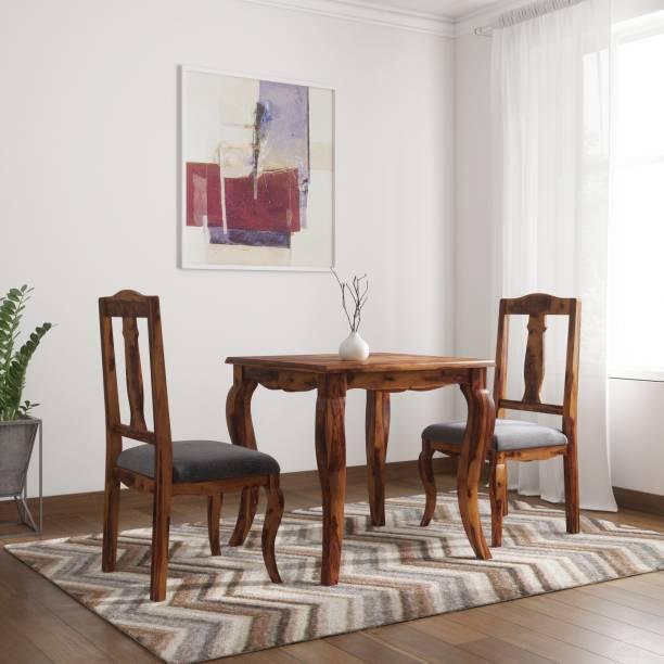 Vintej Home Sheesham Wood Solid Wood 2 Seater Dining Set